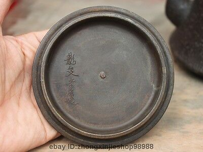Archaic Japanese Iron Silver Gilt Grapes Vines Flagon Kettle Wine Tea Pot