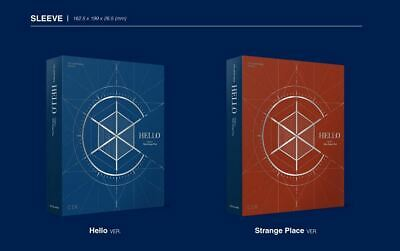CIX 2nd EP ALBUM HELLO Chapter 2. Hello, Strange Place CD + FOLDED POSTER NEW 2