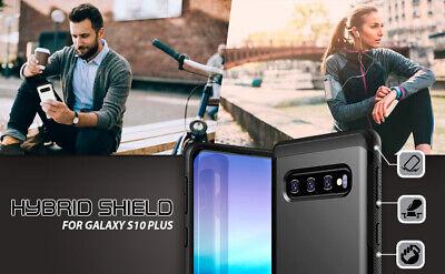 Samsung Galaxy S10 case S10 Plus Case ZUSLAB Hybrid Shield Shockproof Slim Cover 3