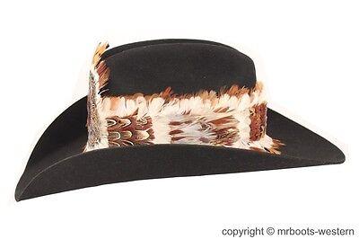 1cc23a75711 WESTERN FEATHER HAT Band for Cowboy Hats SGF-FB-600 -  22.00