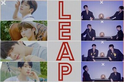 X1 [FLY:QUANTUM LEAP] Album 2 Ver SET+POSTER+2Book+2Stand+2Card+2Mark+2Pre-Order 3
