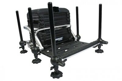 PRESTON INNOVATIONS MUD FEET OLD//NEW STYLE FITS VARIOUS SEATBOX//CHAIR MODELS