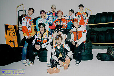 NCT 127 NEO ZONE:THE FINAL ROUND 2nd Repackage Album CD+Poster+P.Book+3Card+GIFT 2