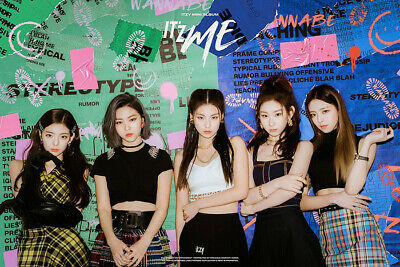 ITZY [IT'Z ME] 2nd Mini Album CD+POSTER+Photo Book+3p Card+Pre-Order Item+GIFT 2