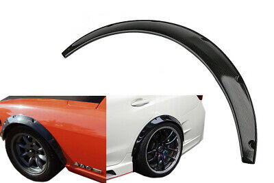 für BMW 3er E46 M3 2Stk Radlauf Verbreiterung CARBON typ Kotflügelverbreiterung