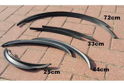 71cm Kohlefaser Radlauf Verbreiterung Kotflügelverbreiterung Kotflügel Carbon