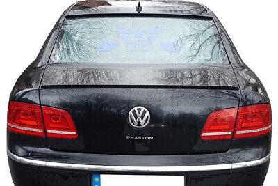 Für VW Phaeton Heck Spoiler Spoilerlippe Kofferraum Lippe Heckspoilerlippe
