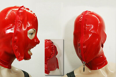 "----- LATEXTIL ----- Latexmaske ""ViewAndZip"" Mask Masque Latex Rubber -NEU- 3"