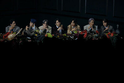 BTS [MAP Of THE SOUL:7] Album RANDOM CD+POSTER+Foto Buch+Lyric+Buch+2p Karte+etc 5