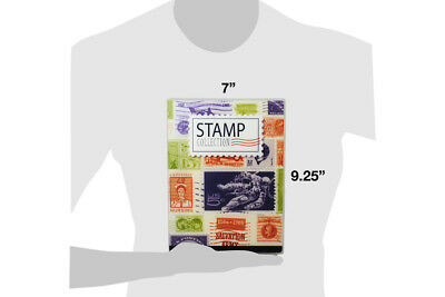 Stamp Collection Kit/Album, w/ 10 Pages, Holds 150-300 Stamps (No Stamps) 4