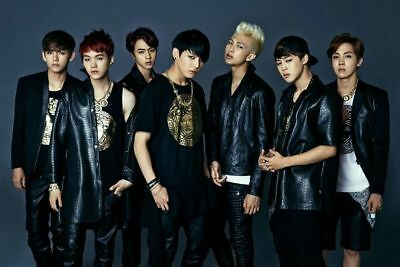 BTS [DARK & WILD] 1st Album CD+Photo Book+2p Photo Card+GIFT CARD K-POP SEALED 3
