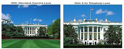 2.2X TELEPHOTO ZOOM LENS FOR Canon EOS SL1 T5 XI Rebel X7 T3 T4 T6 600D 650D XTI 3