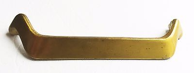 "Brass Vintage Antique Hardware MCM Mid Century Modern Drawer Pull 5 1/4"" centers 2"