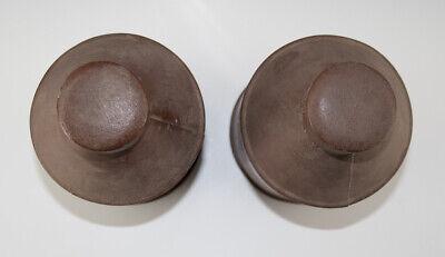 2 x Gefäße aus Blech RADIX EBULI CONC. + FOL. BUCCO wohl um 1920 7
