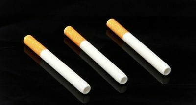 """3 x 3"""" Ceramic Cigarette Pipe  One Hitter Tobacco Smoking Dugout Pipe US Seller 2"""