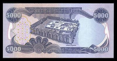 5000 New Iraqi Dinar - Crisp Uncirculated  -Best Deal    Only 15 Left 2