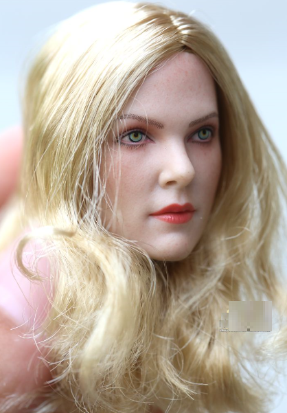 1//6 Rosamund Pike Female Head Blonde hair for Phicen Hot Toys GC001❶US IN STOCK❶