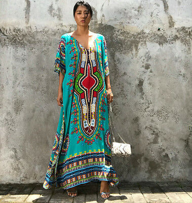 d8617084b0e ... Dashiki Dress Plus Size Traditional Maxi Dresses African Clothing  Womens Tribal 5