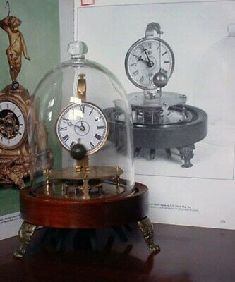 Mystery Briggs Rotary Glass Dome Flying Ball Clock 10