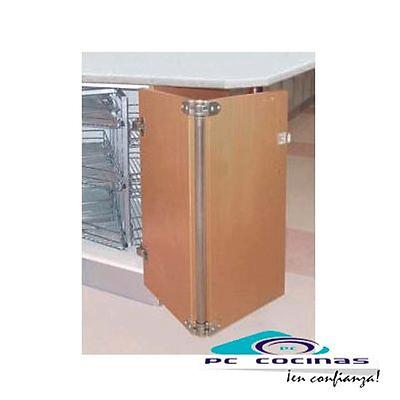 BISAGRA RINCOMAT INOX 70 cm de altura para rincones angulares muebles de  cocina