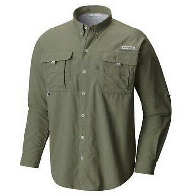 3eca5498 ... NEW COLUMBIA Men's PFG Bahama™ II Long Sleeve Fishing Shirt UPF 30  Vented 4