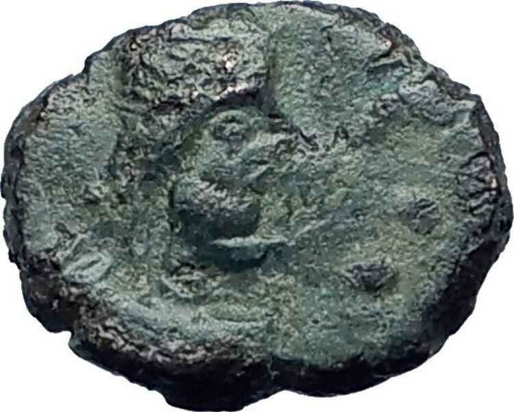 ANASTASIUS 491AD Constantinople Authentic Ancient Roman Coin MONOGRAM i79436 2