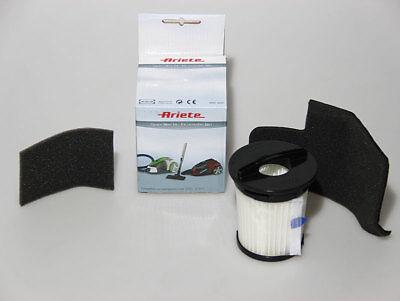 Kit Filtro Hepa + 1 Filtro Motore + 1 Filtro Uscita Aria Ariete Jetforce