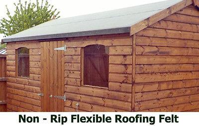 10m x 1m non rip polyester shed felt roofing felt shed. Black Bedroom Furniture Sets. Home Design Ideas