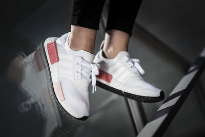 Adidas Originals Nmd R1 Women S Mesh By9952 Icy Pink White Rose