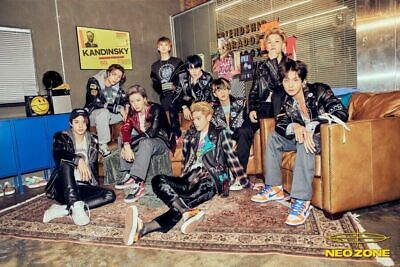 NCT 127 NEO ZONE 2nd Album T Ver CD+Photo Book+3Card+7Sticker+Poster+GIFT SEALED 2