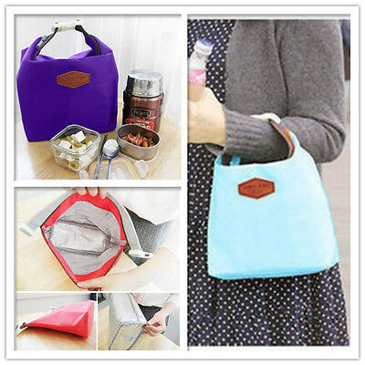 Thermal Insulated Cooler Waterproof Picnic Lunch Bag Lunch Box Storage Portable 4