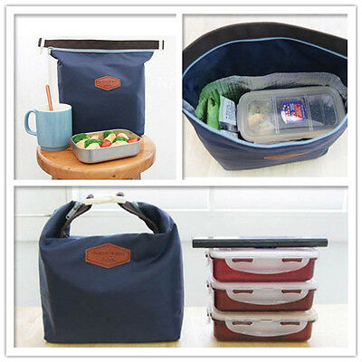 Thermal Insulated Cooler Waterproof Picnic Lunch Bag Lunch Box Storage Portable 2