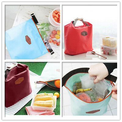 Thermal Insulated Cooler Waterproof Picnic Lunch Bag Lunch Box Storage Portable 3