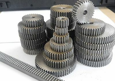 45# Steel Motor Spur Pinion Gear 2M16T 2Mod 16Tooth Thickness 20mm x 1Pcs 3