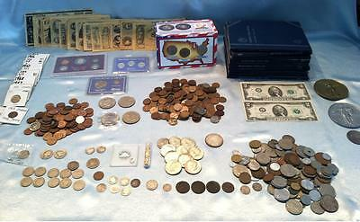 ☆ 50 Coins From Estate Collection ☆ Roman, World, Old Early US 1800s GOLD SILVER 2