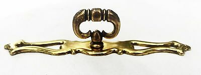 French Provincial Antique Hardware Vintage Drawer Pull Knob Brass Cabinet Pull 7