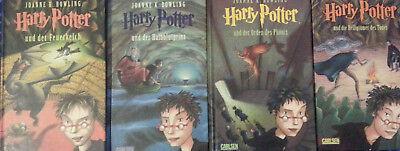 Harry Potter Büchersammlung Band 1-7 komplett, deutsch, gebunden, guter Zustand 5
