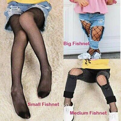 Fashion Baby Kids Mesh Stockings Girls Fishnet Stockings Black Pantyhose Tights 3