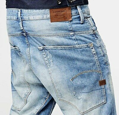 G STAR RAW MENS Type C 3D Loose Tapered Jeans 30