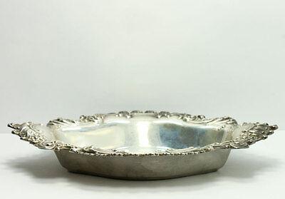 Vintage 1949 Reed & Barton Burgundy Sterling Silver Bon Bon Dish Bowl X499 2