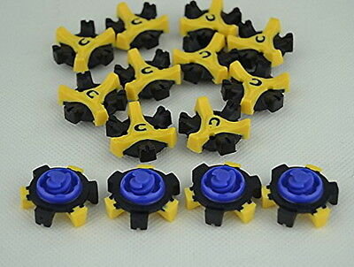 14Pcs* Golf Shoe Spikes Replacement Champ Cleat Fast Twist For Foot Joy IC1 2