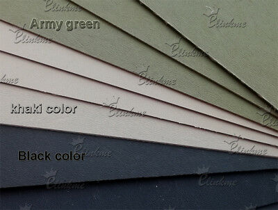 """1.5mm (0.06"""") Thick multicolor KYDEX Sheet Thermoplastic Forming with brass nail 2"""