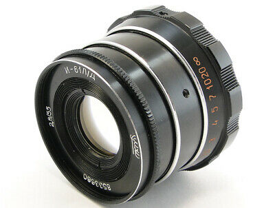 ⭐SERVICED⭐ INDUSTAR-61 L/D Lens + Adapt. E-Mount Sony A 7 7R 7S II III A9 a6500 5