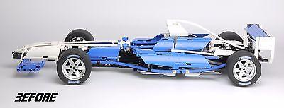 REPLACEMENT 'DIE CUT' STICKERS for Lego 8461 Williams F1 Team Racer + BONUS 5