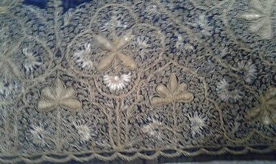 Antique Turkish Hand Made Textile 100- 150 Years Old 3