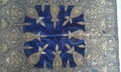 Antique Turkish Hand Made Textile 100- 150 Years Old 2