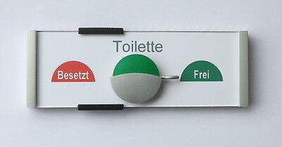 Turschild Toilettenschild Badschild Besetzt Frei Turschild