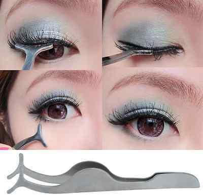 cd0b2a79934 ... False Eyelashes Extension Applicator Remover Clip Tweezer Nipper Makeup  TOOL 7