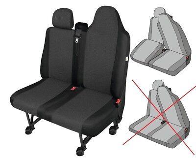 NISSAN  NV400  schwarze Kunstleder Sitzbezug Schonbezug PRACTICAL DV1L