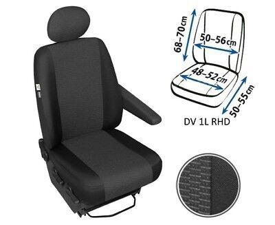 Sitzbezüge 1+1 Schonbezüge Sitzbezug für Peugeot Expert Apollo DV1L